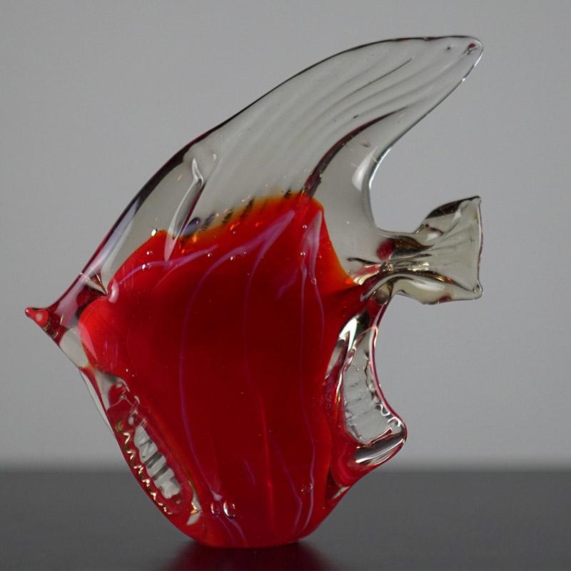 """Стеклянный сувенир """"Рыба"""""""