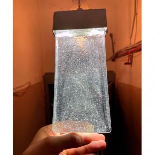 Светильник из литого стекла