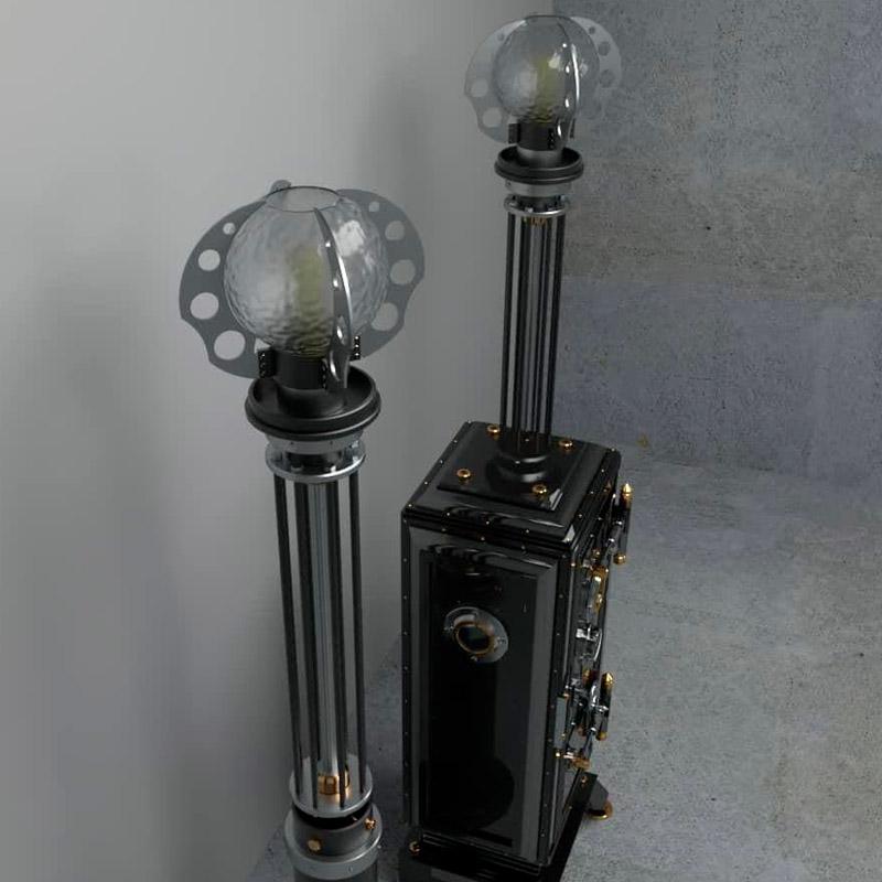Изготовление дизайнерских светильников
