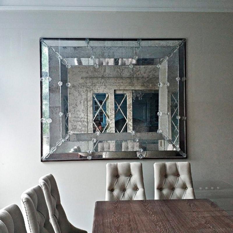 Венецианское состаренное зеркало