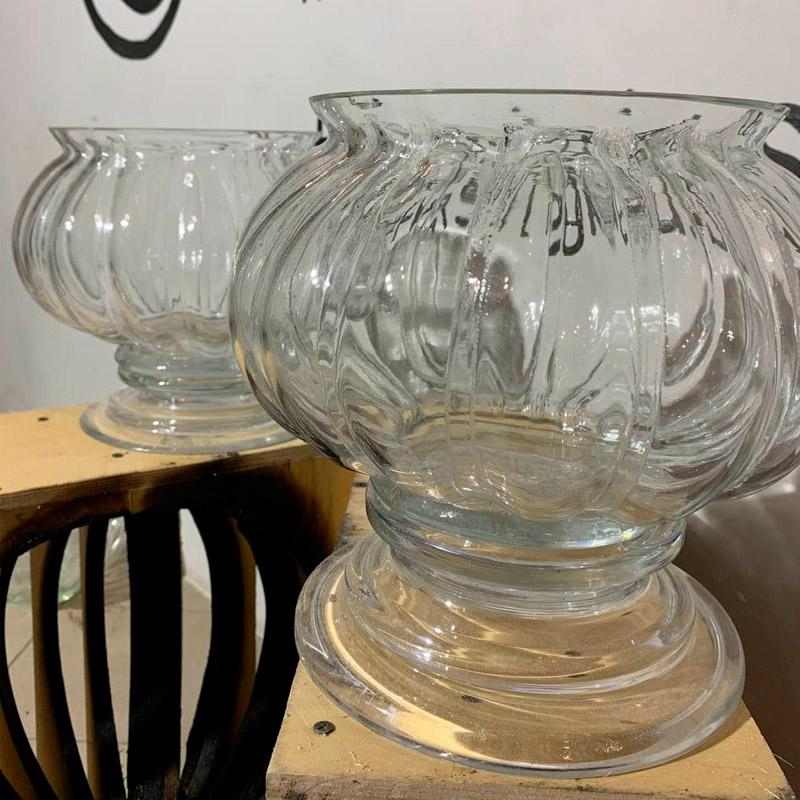 Воссоздание парных итальянских хрустальных ваз