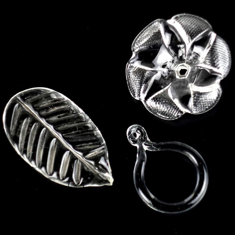 Элементы из стекла для люстр и венецианских зеркал