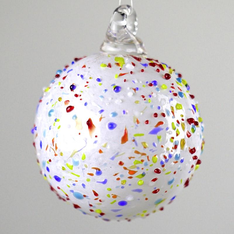 Шары стеклянные новогодние